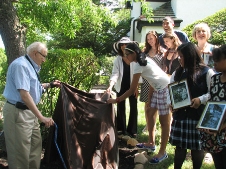 Unveiling Ceremony: Josef and Rosina Lhevinne Historic Plaque at their Kew Gardens Home