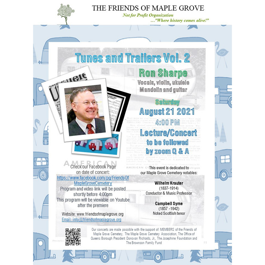 Tunes and Trailers Vol. 2 Ron Sharpe Concert