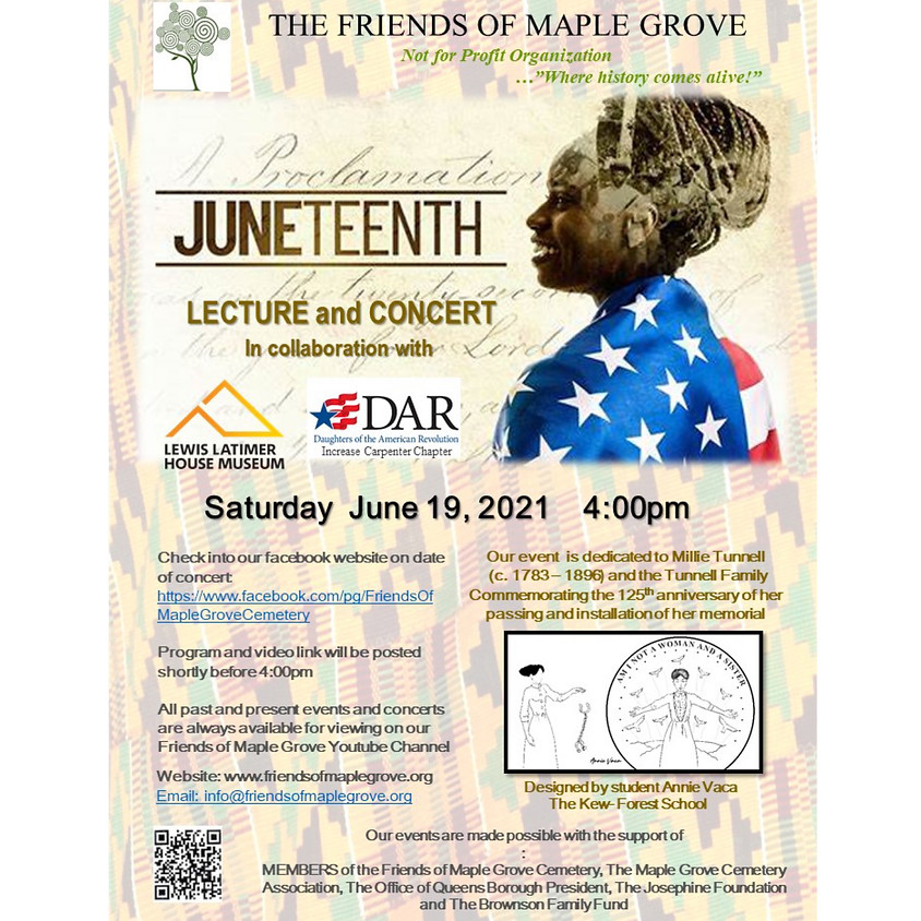 Juneteenth Lecture and Concert