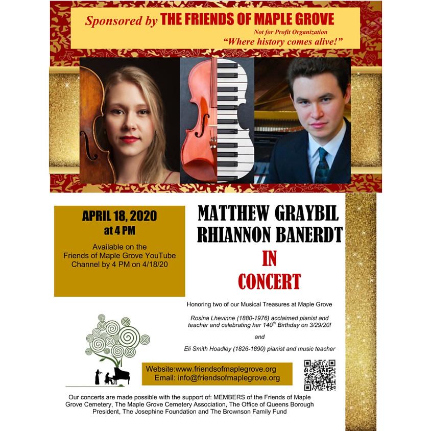 Matthew Graybil & Rhiannon Banerdt Virtual Concert