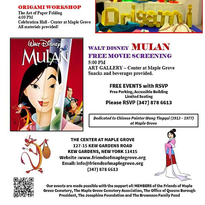 Mulan, Disney Animated Film (1998)
