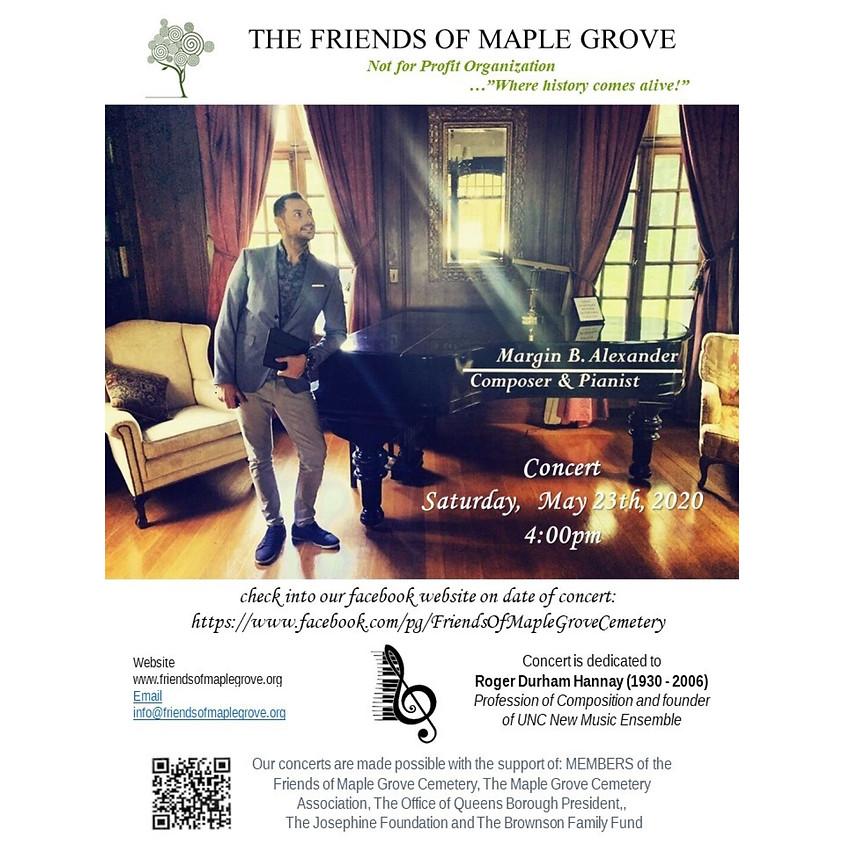 Margin Alexander Facebook Live Concert