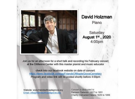 David Holzman Virtual Piano Concert