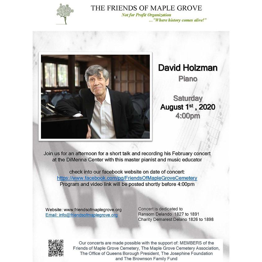David Holzman Piano Concert