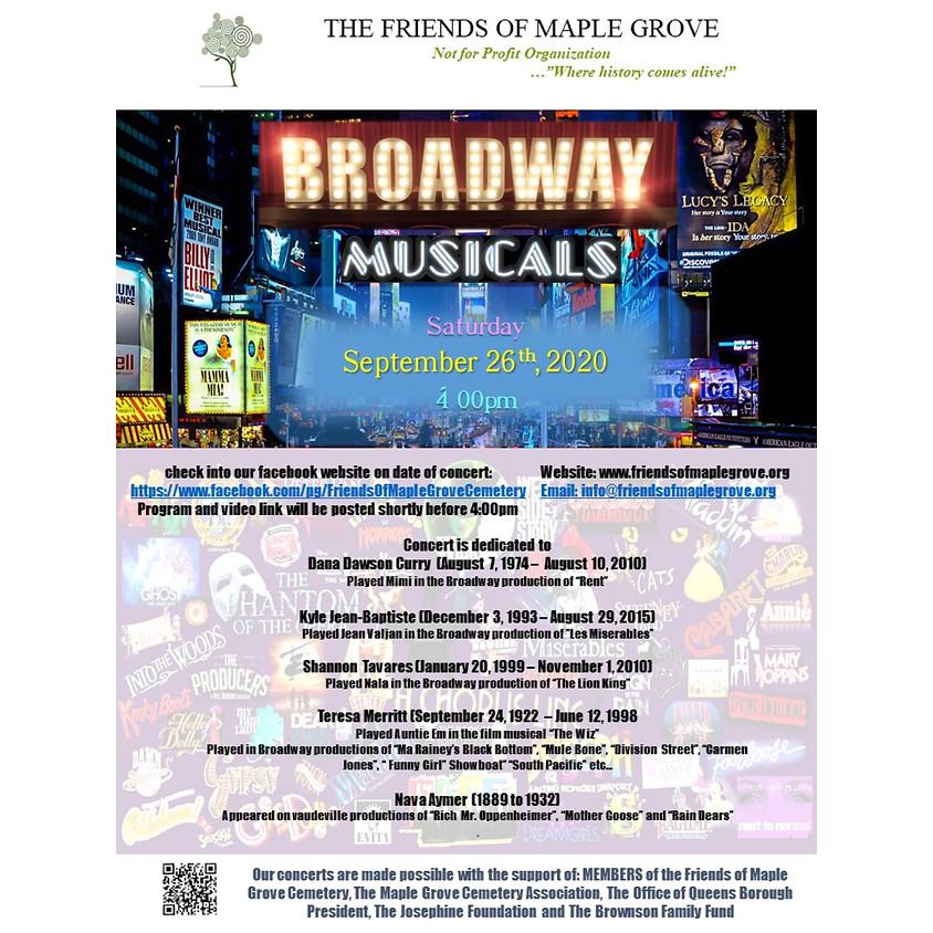 Broadway Musicals Virtual Concert