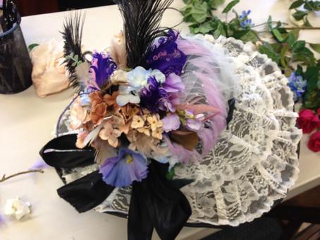 Victorian Hat Making Workshop!