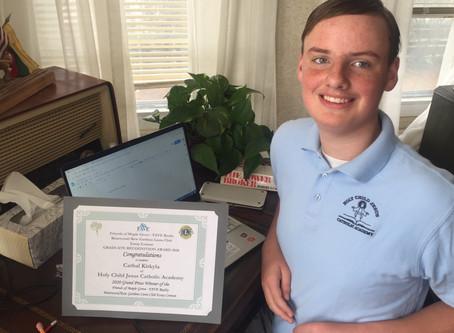 Graduate Recognition Award 2020