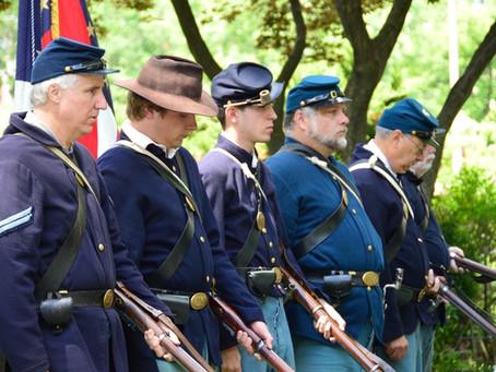 The Civil War Living Historians Presentation