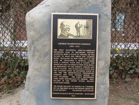 Unveiling Ceremony: George Washington Johnson Historic Plaque
