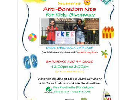 Girl Scouts Anti- Boredom Summer Kits for Kids Giveaway Part 2