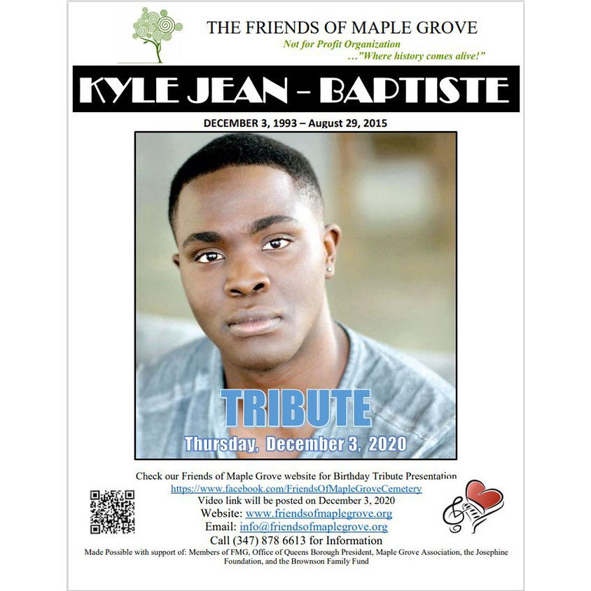 Birthday Tribute for Kyle Jean-Baptise