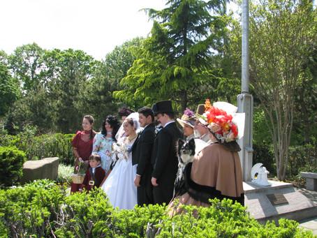 Victorian Wedding Tea!