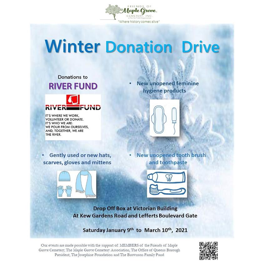 Winter Donation Drive