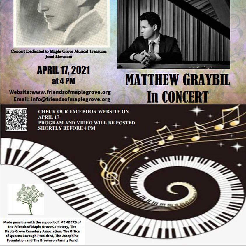 Matthew Graybil In Concert