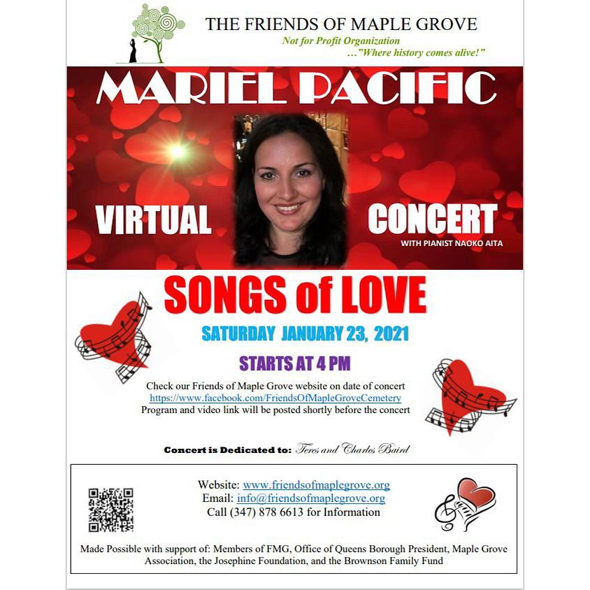 Songs of Love Mariel Pacific Virtual Concert