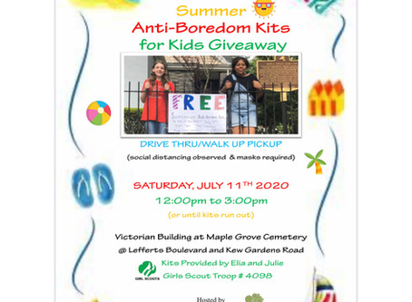 Free Summer Anti-Boredom Kits for Kids Giveaway