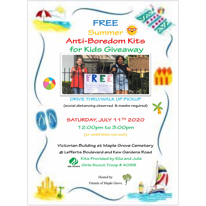 FREE Summer Anti-Boredom Kits for Kids Giveaway!