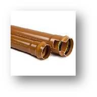 Tubazioni e raccordi in PVC HT con guarnizione elastomerica