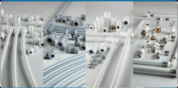 Sistemi idraulici in plastica polibutilene