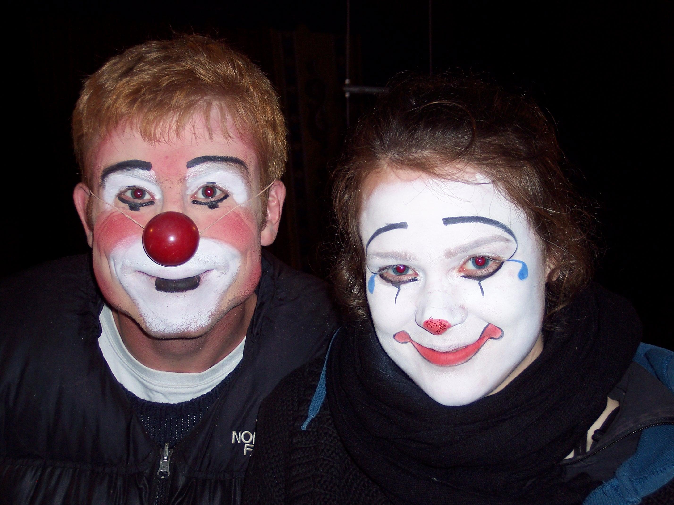 ACA 2006 - Clown Makeup Paul & Nora