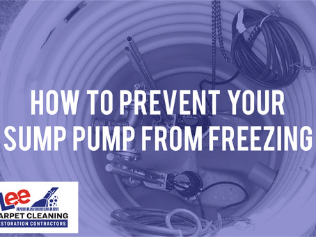 How to Prevent Your Sump Pump from Freezing