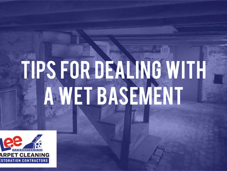 Tips For Dealing With A Wet Basement