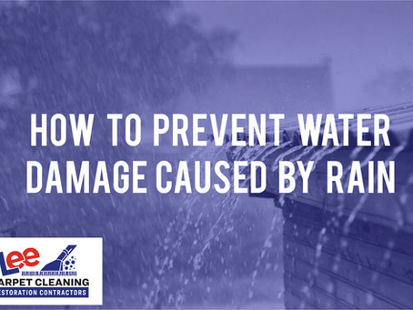 How to Prevent Water Damage Caused by Rain