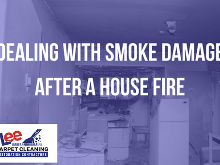 Dealing with Smoke Damage After a House Fire