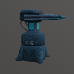 Railgun Turret RG-1602