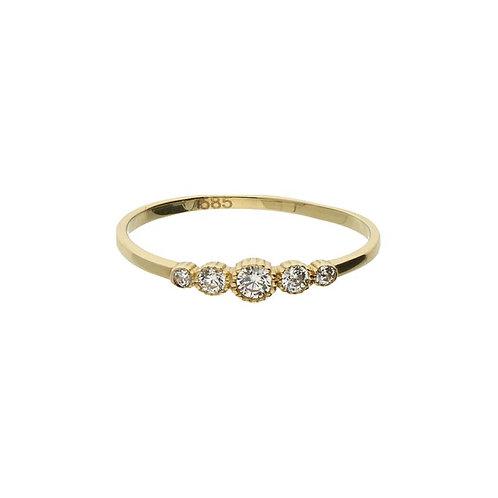 VL ring stackable mini vintage