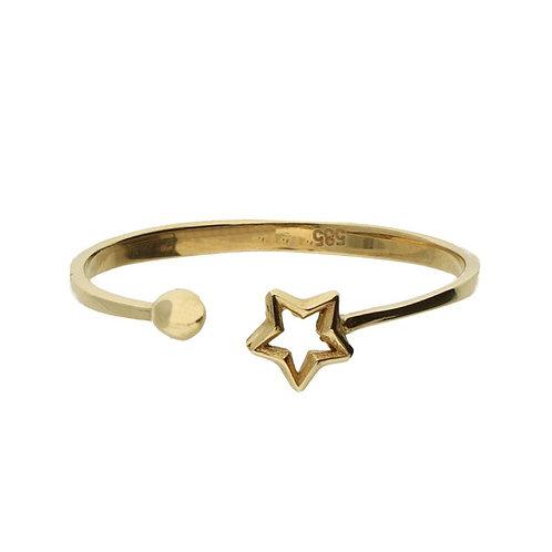 VL ring stackable mini star dot