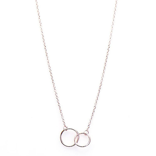 Karma ketting double circle