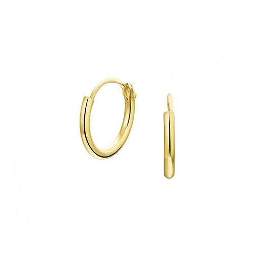 Gouden creolen van 14k goud