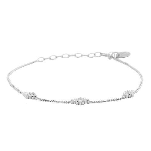 Karma Armband diamond shape dots