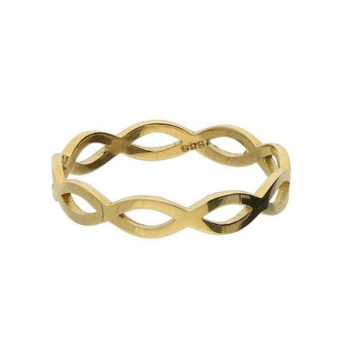VL ring stackable mini braid