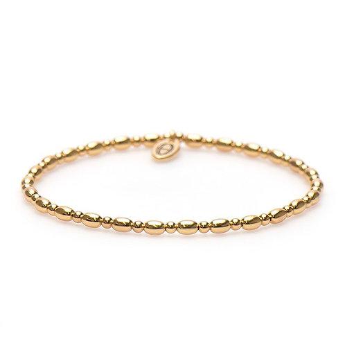 Karma armband xs balistyle bracelet goldplated