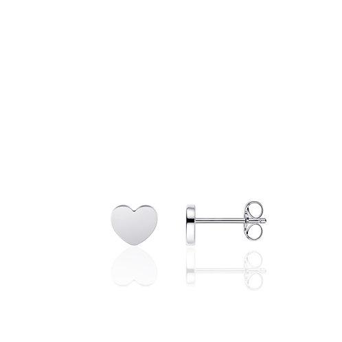 GS hartjes oorbelknopjes