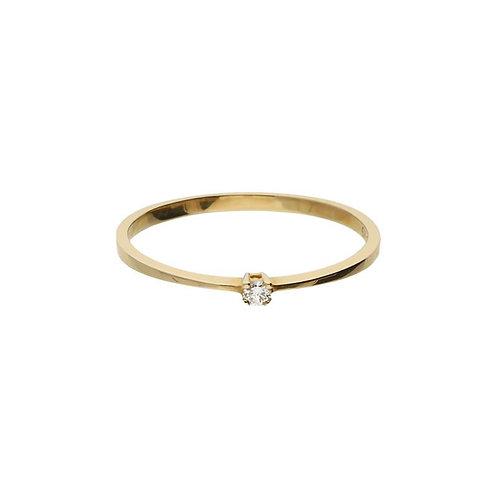 VL ring solitaire Diamant-1-0.03ct