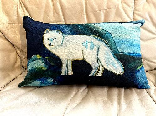 Arctic fox - Cushion cover