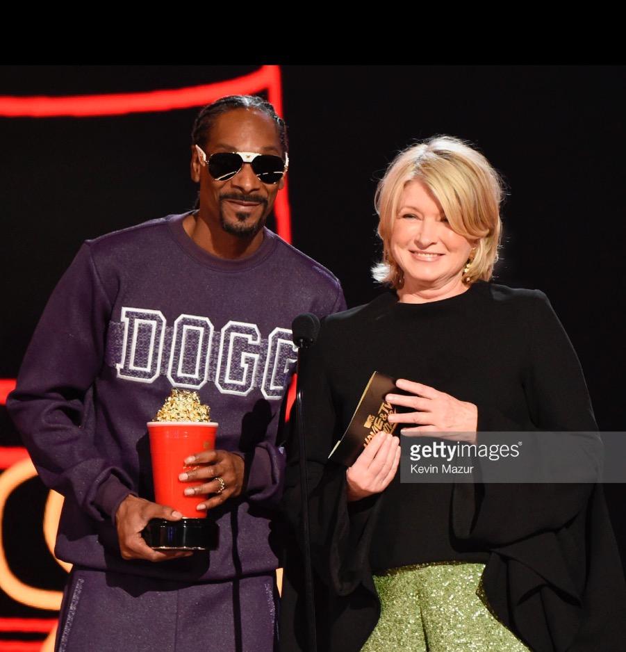 Martha Stewart and Snoop Dogg MTV