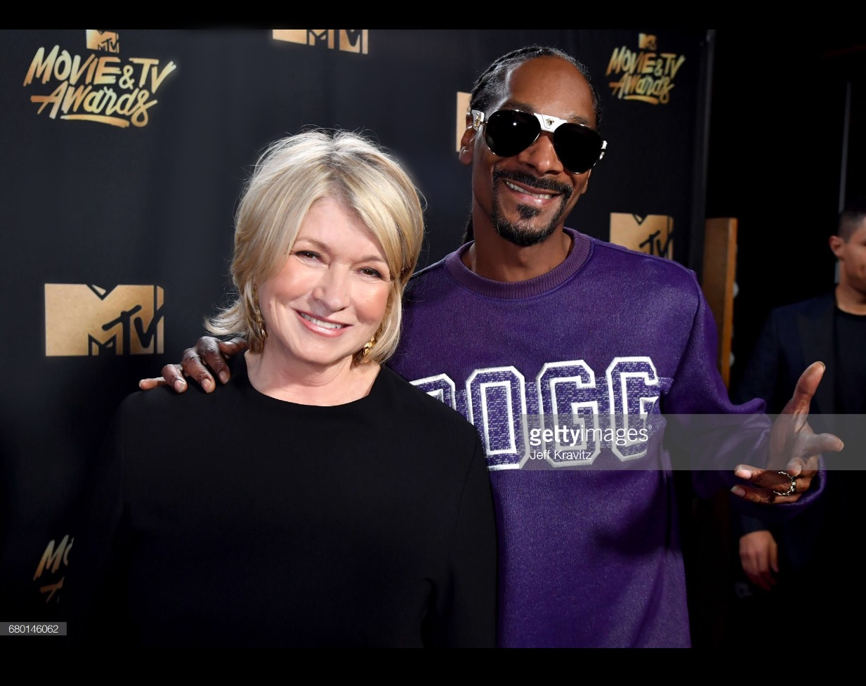 Martha ans Snoop Red Carpet