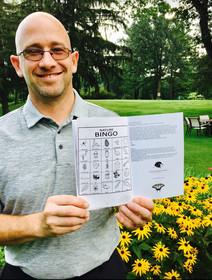 Pinehave CC General Manager Scott Warren proudly featured in Golf Bingo.