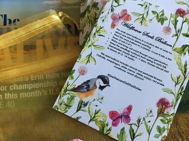 Wildflower seeds packet
