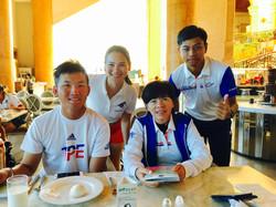 Universiade Taiwan Athletes and Coac