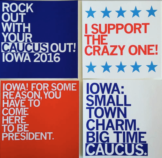 The Iowa Caucuses: In 5 Sentences (or less)...