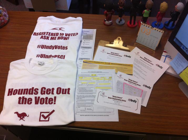 UIndy Votes! Part I.