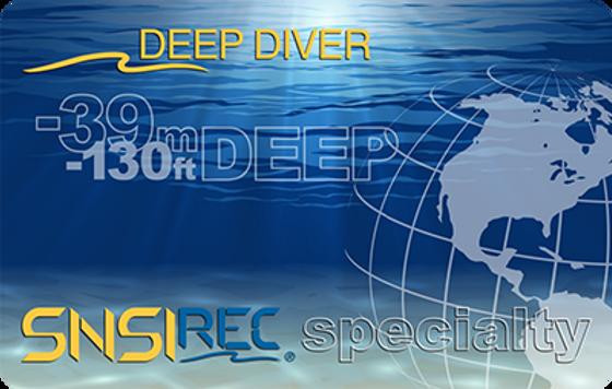 Deep diver scubacollege istruttore sub