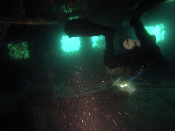 wreck diver relitto immersione treviso