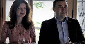 Verabschiedung von Pavel Matsukevich, e. Chargé d'Affaires