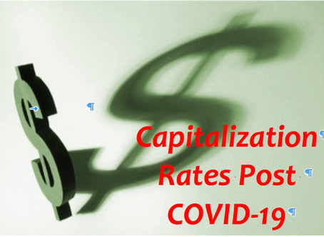 A Primer to Capitalization Rates        Post COVID-19